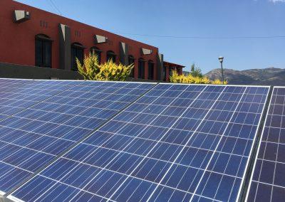 Instalación de paneles solares en empresas y edificios corporativos
